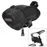 ROSWHEEL bolsa Bicicleta Silla asiento de poliester cola - negro (1.3L)
