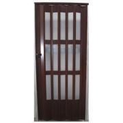Üvegkazettás harmonika ajtó 203 x 86 cm dió 7950820