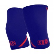 SBD Apparel SBD Knee Sleeves 3XL Navy/Red Limited Edition