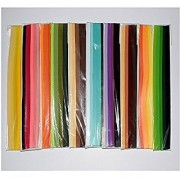 Assorted Colorful Quilling Strips 5mm Pack 10 Packs
