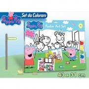 Set da colorare peppa pig pp0418 pvps1