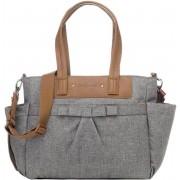 Babymel Cara Diaper Bag Bloom grey