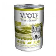 Wolf of Wilderness Hondenvoer 6 x 400 g - Green Fields - Lam