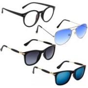 Vitoria Aviator, Wayfarer, Spectacle Sunglasses(Multicolor)