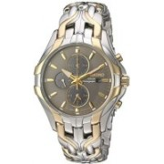 """Seiko Grey9132 Seiko Men's SSC138 """"Excelsior"""" Two-Tone Stainless Steel Solar Watch Watch - For Men"""