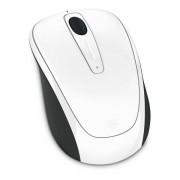Microsoft Ratón 3500 Bluetrack Inalámbrico Gloss Edition Blanco