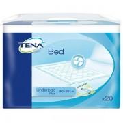 Paturici de protectie pat TENA Bed Plus 80x180 cm 20buc