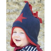 Buggy Snuggle Kindermuts Navy - Red Star M