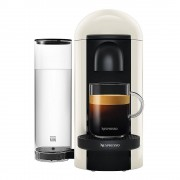 Nespresso VertuoPlus Round Top Kaffemaskin Vit