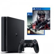 Конзола PlayStation 4 Slim 500GB Black, Sony PS4 + Игри Dishonored: Death of the Outsider и Destiny 2 за PS4