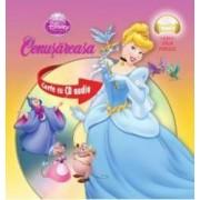 Disney - Cenusareasa format mic + Cd Audio Lectura Stela Popescu