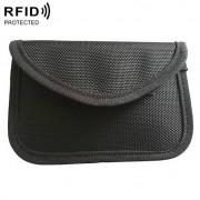 RFID Keyless Entry Anti Scanning Car Key Kit Signal Shielding Bag (Zwart)