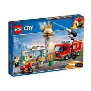 LEGO City Stingerea incendiului de la Burger Bar (60214)