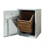 Kukatároló szekrény - 1 műanyag kuka tárolásához 3453