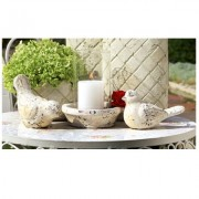Decoratie vogel set 2 st
