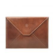 Leder iPad Tablet Hülle in Braun