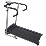 "vidaXL Electric Treadmill 100x34 cm with 3"" LCD Display 500 W"