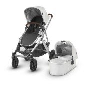 Uppababy 0318-VIS-UK-BRY Vista Pushchair and Carrycot Bryce (White Marl)
