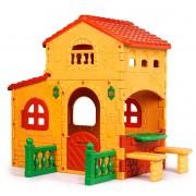 Milani Home GRANDE VILLA - casetta da giardino per bambini