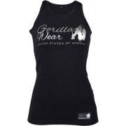 Gorilla Wear Florence Tank Top - Black/Silver - S