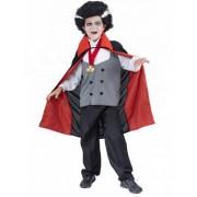Vegaoo Halloweenvampierenpak voor jongens S 110/122 (4-6 jaar)