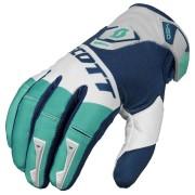 Scott 450 Podium Glove Green Blue 2XL