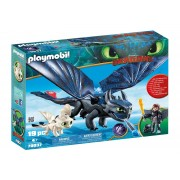 Playmobil Hiccup, Toothless Si Pui De Dragon