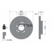 TEXTAR Discos De Freno MERCEDES-BENZ 92038600 2014211312,2014211512,A2014211312 A2014211512