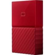 HDD Extern WD My Passport New 3TB USB 3.0 Red