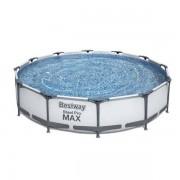 Bestway Stål Pro MAX Pool 6.473L 366x7 - Bestway Pool 56416