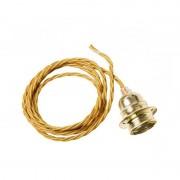 Watt&Veke Twisted Cable Guld/Mässing Upphäng