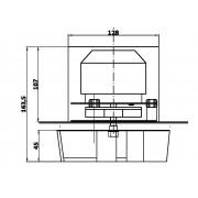 Kazán elszívó ventilátor S-1800