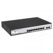 D-LINK 10 portni gigabitni switch DGS-1210-10P