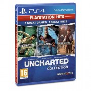 Игра Uncharted Nathan Drake Collection PS Hits PS4