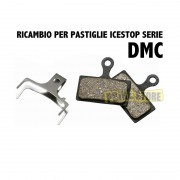 Ricambio Pastiglie freno con Dissipatore DMC Shimano XTR-XT-SLX-Trail