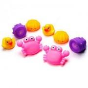 Комплект детски играчки за баня, Животинки, Play Gro, 076665