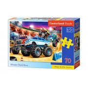 Puzzle Monster Truck Show, 70 piese