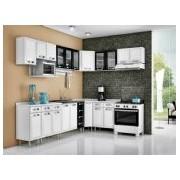 Cozinha Completa Itatiaia Premium de Aço CZ25 - Cor Branco