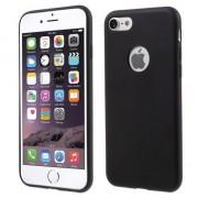 GadgetBay Coque en silicone noir uni Coque iPhone 7 7 Noire