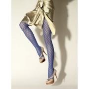 Gerbe Eleganta strumpbyxor med mönster Délice mon bleu 3