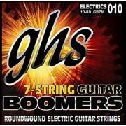 GHS Strings GB7M 7-String Guitar Boomers Nickel-Plated Electric Guitar Strings Medium (.010-.060)