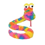 """ToySource Prism The Greatful Snake Plush Collectible Toy, Rainbow, 81"""""""
