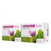 Sensilab 2x Hepafar forte Účinná detoxikaci jater Ostropestřec mariánský a fosfolipidy Kúra na 1 měsíc 2x 30 kapslí