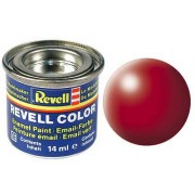 REVELL fiery red silk