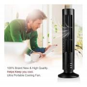 Portátil USB Tower PC Laptop Ventilador De Escritorio Aire Acondicionado Sin Cuchillas