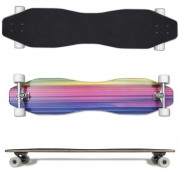 "vidaXL Rainbow ""8"" Shaped Longboard 104 cm"