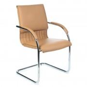 Fotel konferencyjny CorpoComfort BX-SH013 Mokka