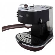 DeLonghi ECOV 311.BK Icona Vintage Siebträger Espressomaschine Schwarz-Braun