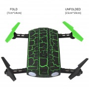 1705W Mini 6-Axis WIFI FPV RC Drone Quadcopter Con HD Drones Cámara Control Por Teléfono