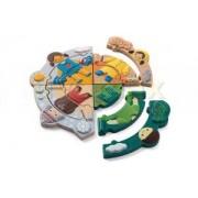 Plan Toys houten puzzel Vier seizoenen 5666